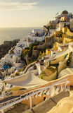 Santorini, Cyclades - île en Grèce Photographie stock libre de droits