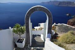 Santorini, Cyclades, Grèce Images stock