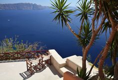 Santorini, Cyclades, Grèce Images libres de droits