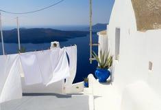 Santorini, Cyclades, Grèce Photographie stock