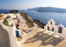 Santorini, Cyclades, Grèce Photographie stock libre de droits