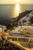 Santorini, Cyclades, Grèce Photos stock