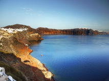 Santorini Cyclades Greece Stock Photo