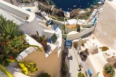 Santorini, Cyclades, Greece Stock Images