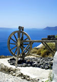 Santorini in details Royalty Free Stock Photos