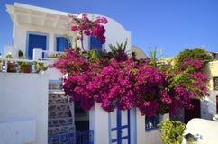 Santorini, die Kykladen, Griechenland Stockfotografie