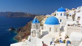 Santorini, die Kykladen, Griechenland Lizenzfreie Stockfotografie