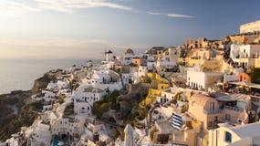 Santorini, die Kykladen, Griechenland Stockfotos