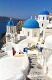 Santorini, die Kykladen - Insel in Griechenland Lizenzfreie Stockbilder