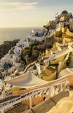 Santorini, die Kykladen - Insel in Griechenland Lizenzfreie Stockfotografie