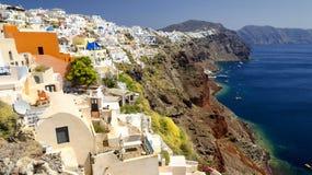 Santorini, die Kykladen - Insel in Griechenland Lizenzfreies Stockbild
