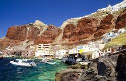 Santorini, die Kykladen - Insel in Griechenland Lizenzfreies Stockfoto