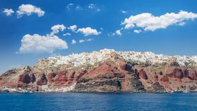 Santorini, die Kykladen-Inseln, Griechenland Stockfoto
