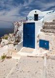 Santorini door Stock Photography