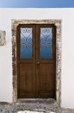 Santorini door Royalty Free Stock Images