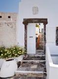 Santorini door Stock Photo