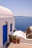 Santorini Dream Home Royalty Free Stock Images