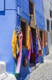 Santorini, ein kleines System Stockbilder