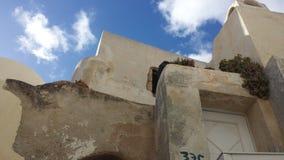 Santorini. Emborio near castelli royalty free stock images