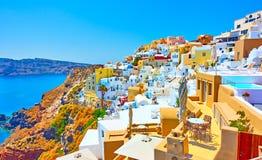 Santorini en Grèce photographie stock