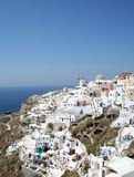 Santorini espectacular. Imagens de Stock