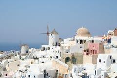 Santorini espectacular. Fotografia de Stock