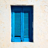 in santorini europe greece  old architecture and blue    venetia Royalty Free Stock Photo