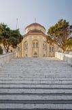 Santorini Exo Gonia Church Stock Images