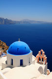 Santorini famoso, Greece fotografia de stock