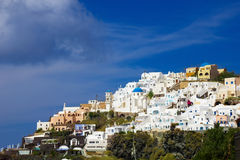Santorini Fira lizenzfreies stockfoto