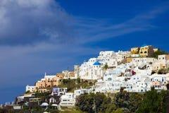Santorini Fira royalty free stock photo