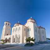 santorini gonia exo 01 церков Стоковое Изображение