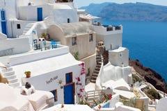 Santorini, Grèce Photos libres de droits
