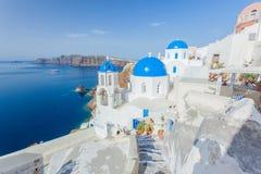 Santorini, Grèce Images libres de droits