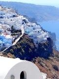 Santorini Grèce Photo libre de droits