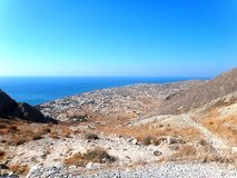 Santorini Grèce photographie stock libre de droits