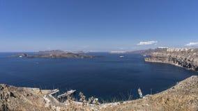 Santorini, Grécia Fotos de Stock