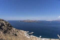 Santorini, Grécia Fotos de Stock Royalty Free