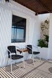 Santorini, Grécia, em julho de 2013 Fotos de Stock Royalty Free