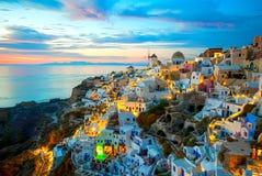 Santorini Grécia Imagens de Stock