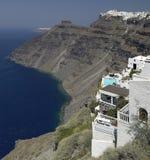 Santorini - Grecia imagenes de archivo