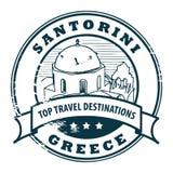 Santorini, Grecia stock de ilustración