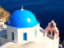 Santorini, Grecia imagenes de archivo