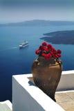 Santorini Grecia Fotografie Stock