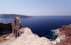 Santorini, Grecia Immagini Stock