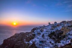Santorini, Grecia fotos de archivo libres de regalías