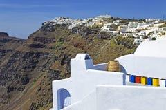 Santorini (Grecia, Europa) Fotografie Stock