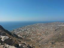 Santorini Grecia Perisa Imagenes de archivo