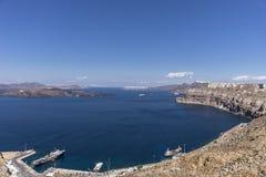 Santorini, Grecja Obrazy Royalty Free