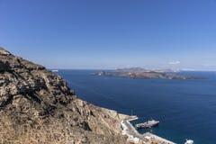 Santorini, Grecja Zdjęcia Royalty Free